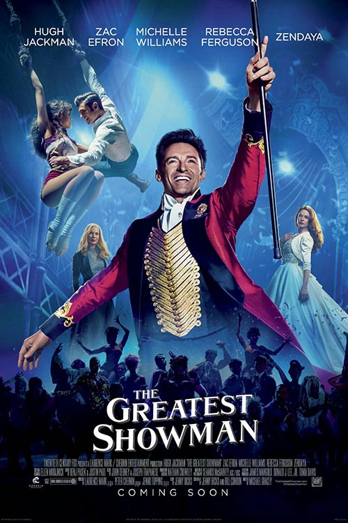 The Greatest Showman cover